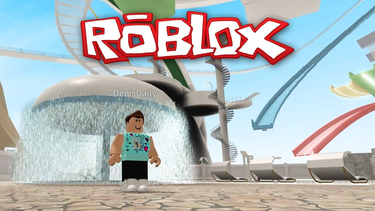Roblox Adventures Waterpark I Died At The Water Park