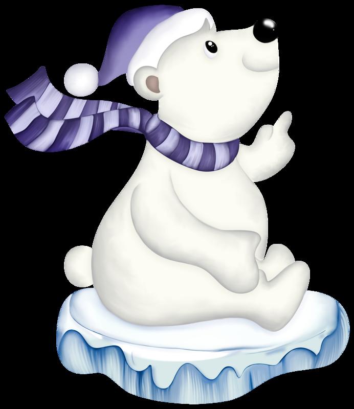 крышу мультяшный белый медвежонок картинки хозяева