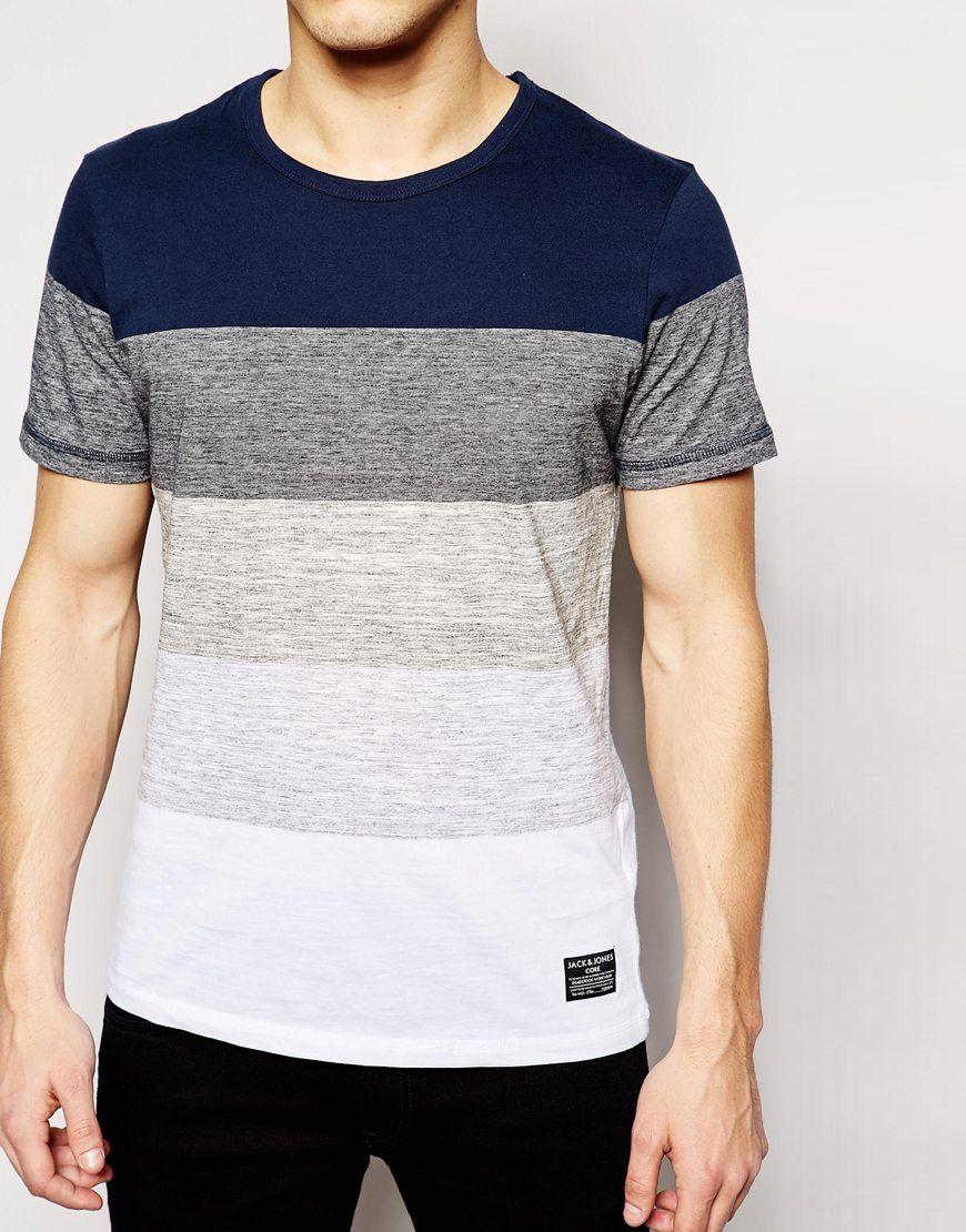 Image 3 of Jack & Jones Stripe T-Shirt