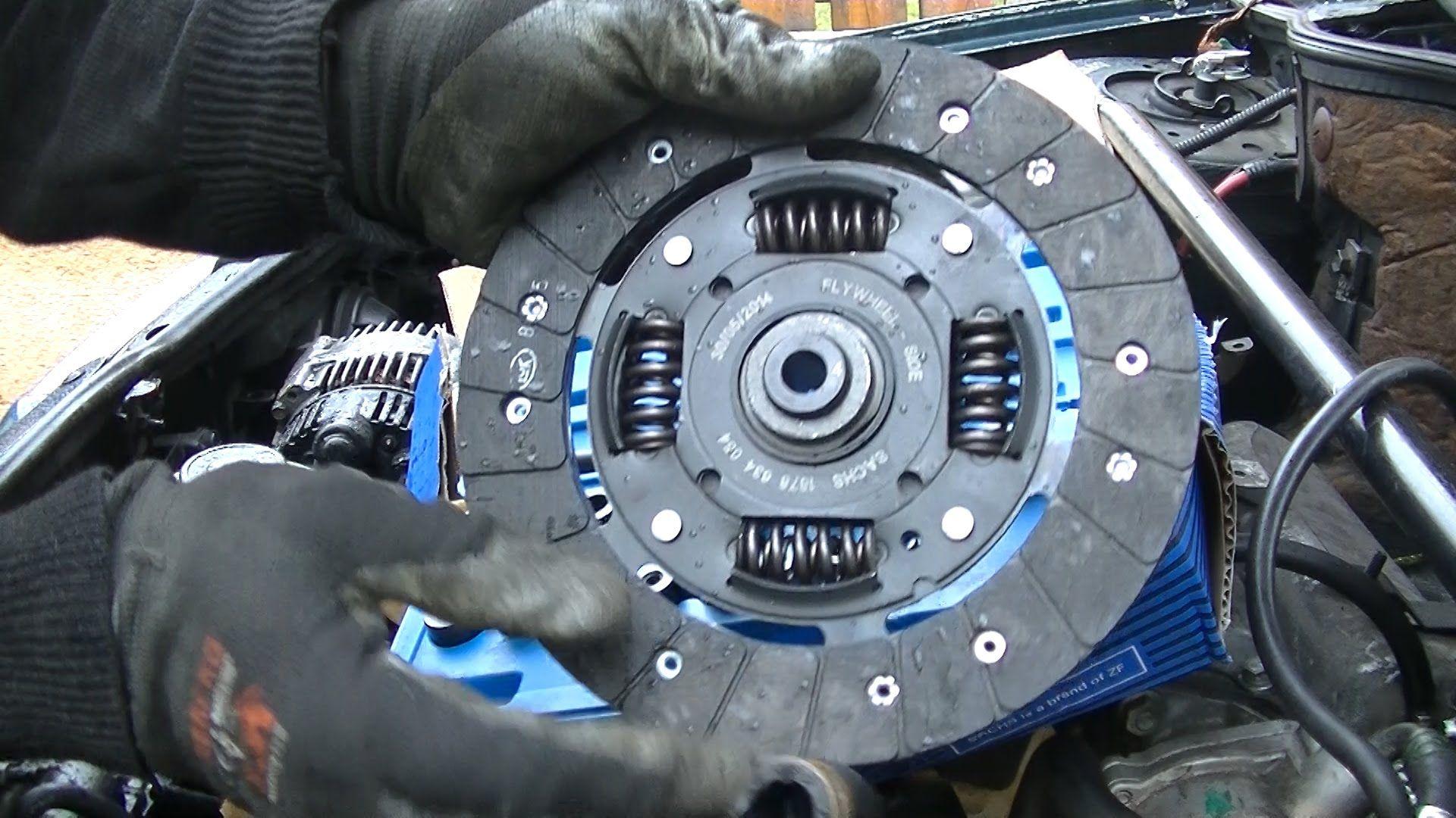 Clutch Replacement Part 2 Clutch Refitting Refit Replacement Parts Vehicle Gauge