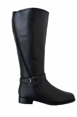 Extra wide calf boots