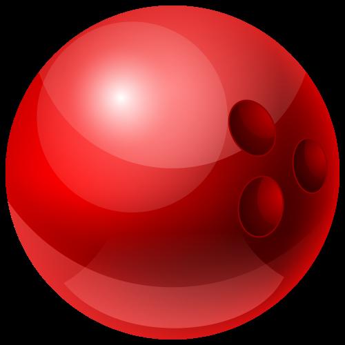 Red Bowling Ball Png Clipart Bowling Ball Ball Bowling