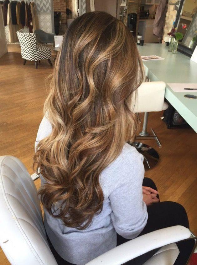 lange honig blonde haare - Frisuren Damen #hairhowtoget