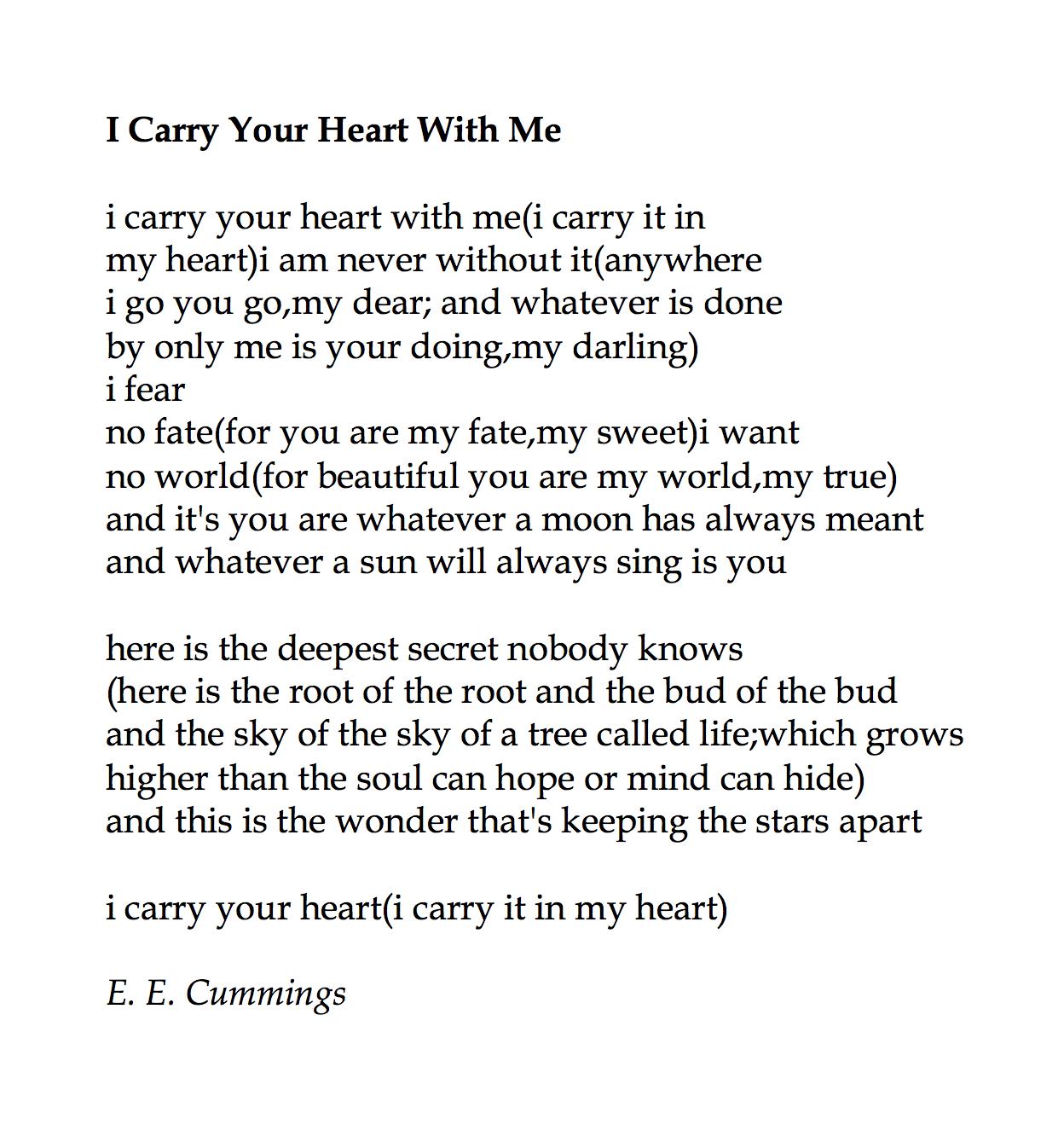 E.E. Cummings | American poet