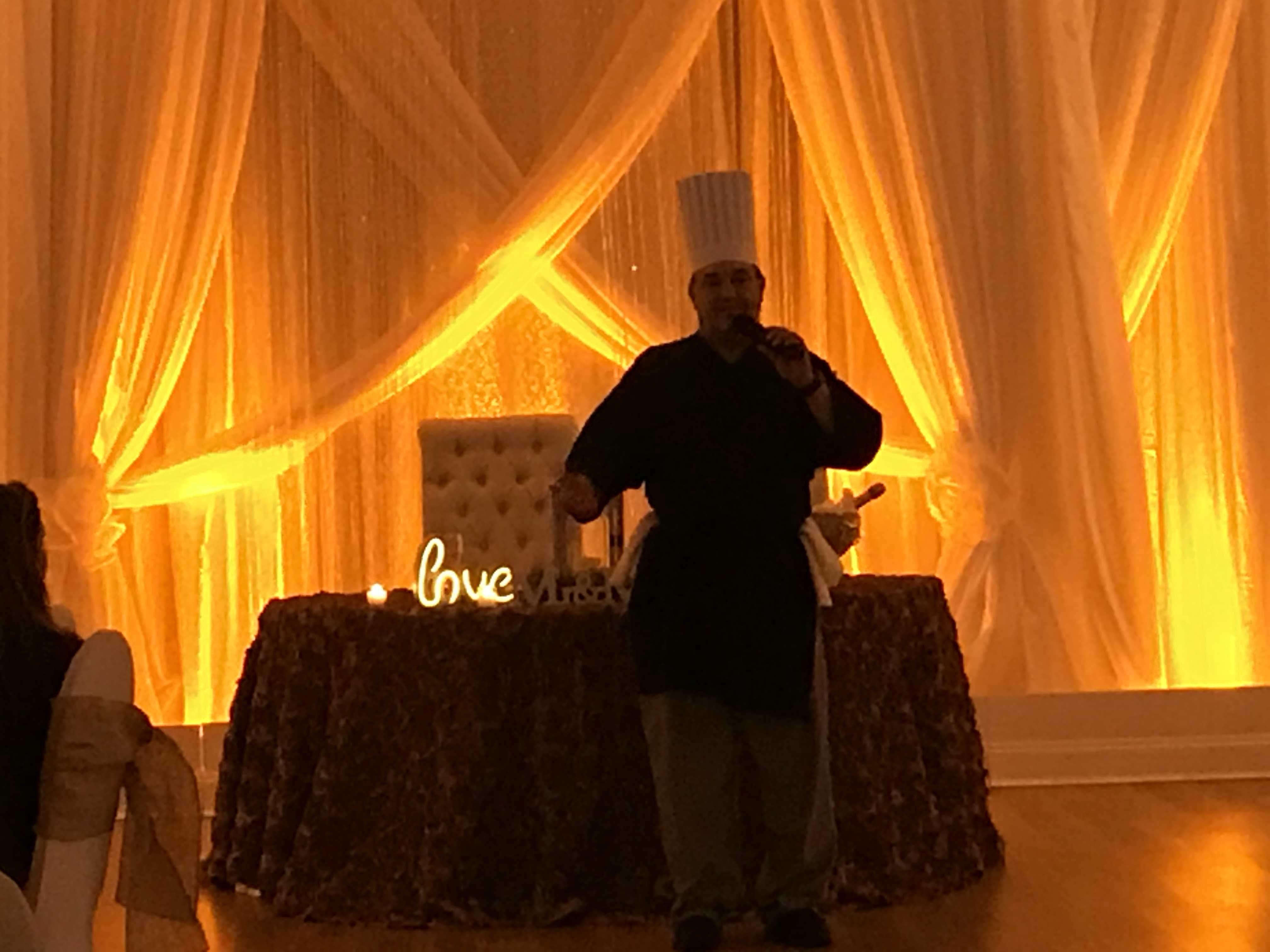 Wedding Venue Grand Manor In Melbourne Fl Executive Chef Anthony Elias Renaissance Catering Uplightin Wedding Catering Wedding Draping Florida Wedding