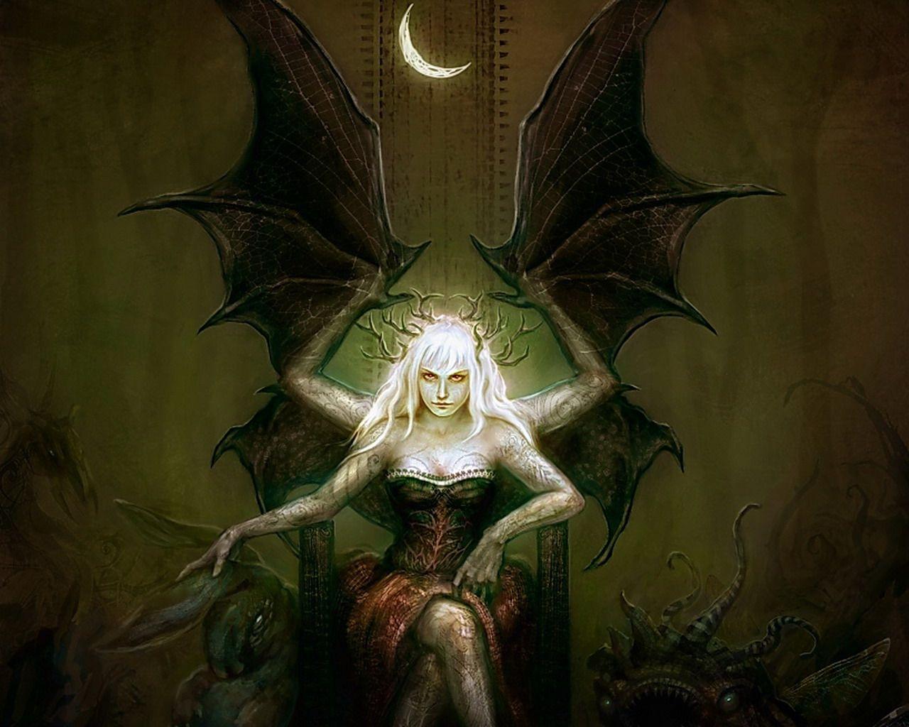 Dark Fairy Fantasy Demon Dark Fantasy Fantasy Art