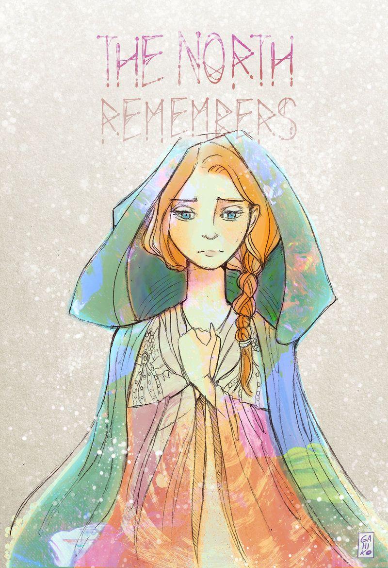 Sansa Stark by Gahiko.deviantart.com on @DeviantArt