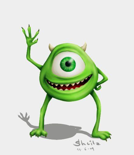 Mike Wazowski - Monsters University - Digital Spy  |Monster University Character Mike