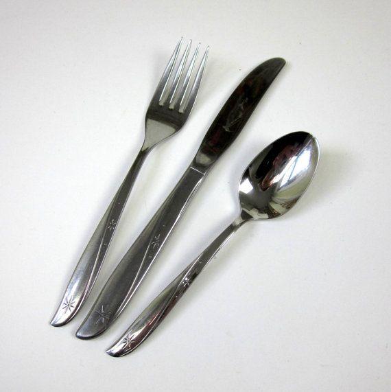 oneida twin star silverware