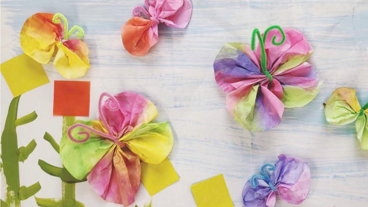 ちょうちょ の壁面飾りを作ったよ 春の製作 保育園 幼稚園 可愛い カラフル 簡単 Diy For Kids Paper Craft Butterfly Spring Easy 子ども 626 Youtube 春の飾り付け 画用紙 花 コーヒーフィルターアート