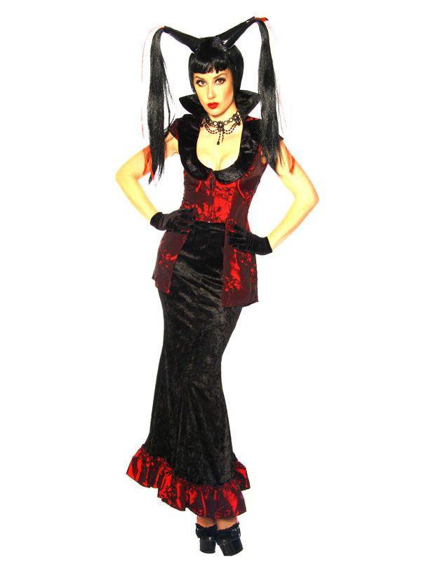 Heiße Frau In Rot Und Ihre Büroeskapaden