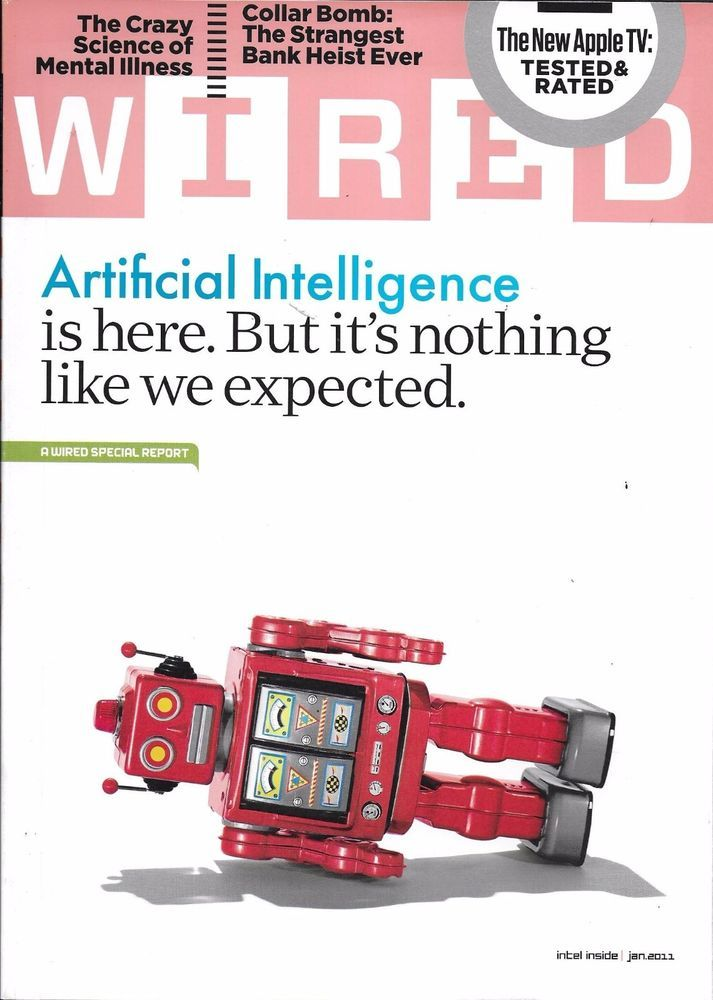 Wired magazine Artificial intelligence Science of mental illness ...