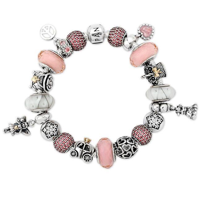 Pandora Pink Princess Bracelet