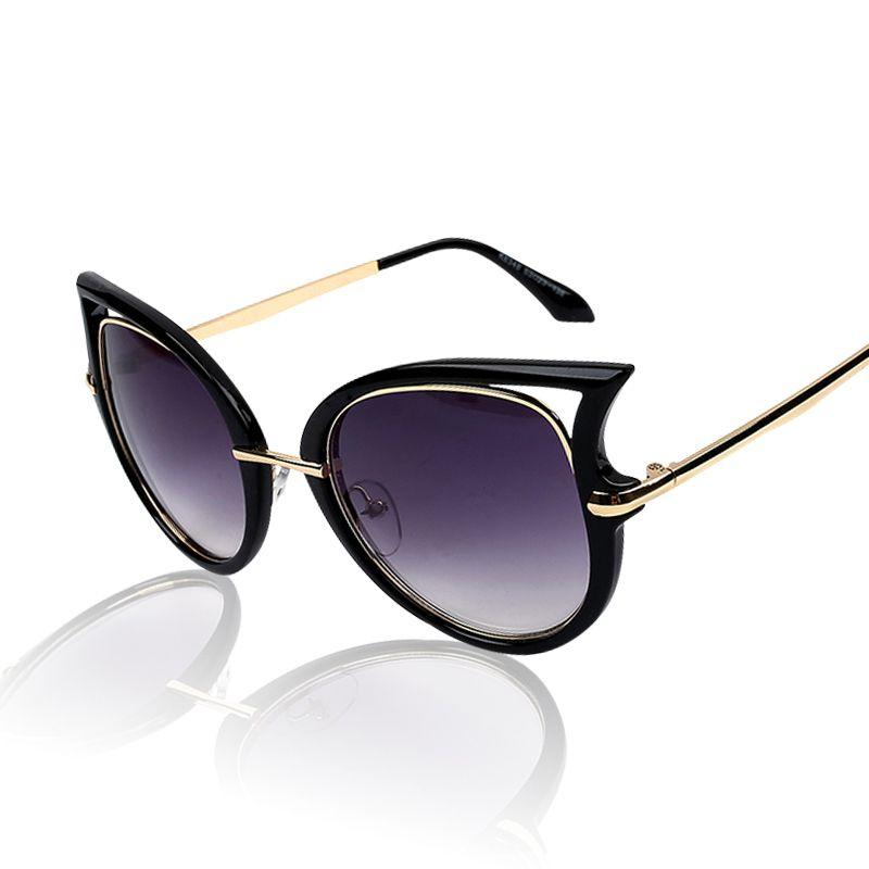06ca51303 Novos óculos de marca famosa verão mulheres homens óculos moda mens  Sunglasses marca designer óculos de