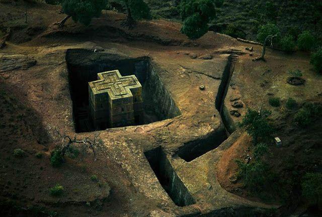 Templo de bet goorgis lalible en etiopia orlov