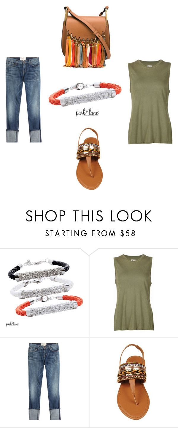 """""""Brecken"""" by parklanejewelry on Polyvore featuring 321, Current/Elliott and Chloé"""