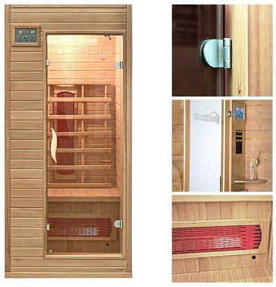 infrarotkabine redsun s 90 90 190 cm 40 mm f r bis zu 1 personen badezimmer pinterest. Black Bedroom Furniture Sets. Home Design Ideas