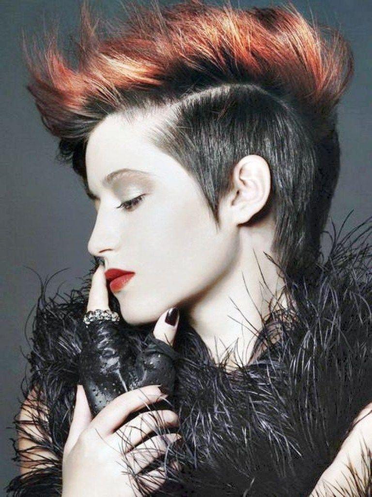 Kurze Punk Frisuren Für Frauen #Frisuren  Short punk hair, Punk