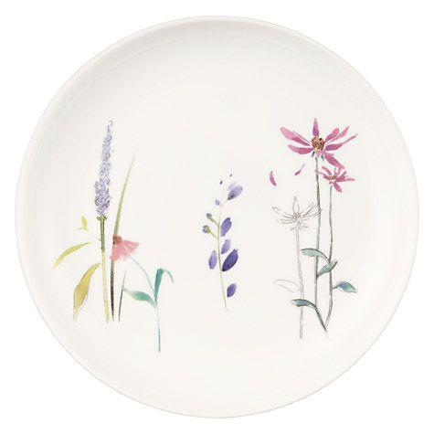 Buy John Lewis Leckford 21cm Bone China Plate Online at johnlewis.com