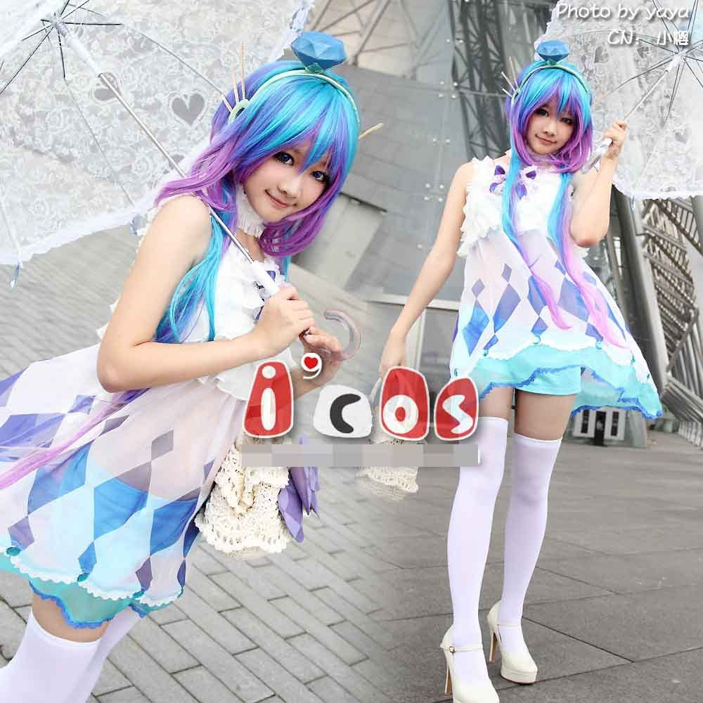 Click to Buy << VOCALOID 3 AOKI LAPIS Women Cos Anime Party Cosplay