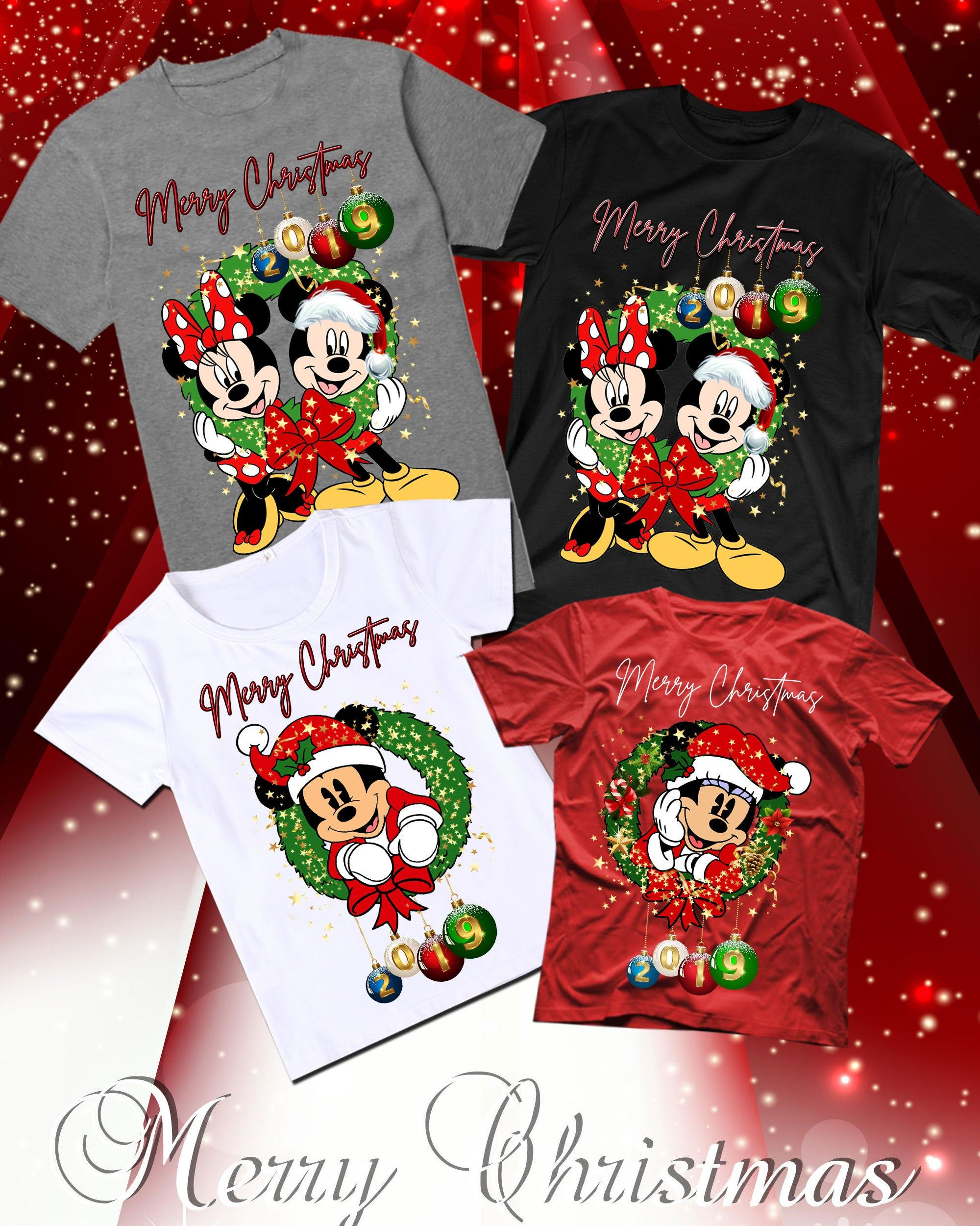 Disney Homme Mickey and Minnie Mouse Great Pair Sweat-Shirt