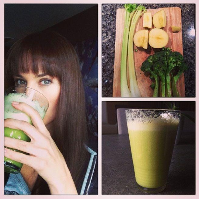 EL ELIXIR 'DETOX' Elsa Pataky se une a la moda del brebaje verde: te contamos qué es el zumo verde. Las celebrities son adictas a este zumo verde de vegetales. Está compueste por frutas, verduras, agua y zumo de cítricos.