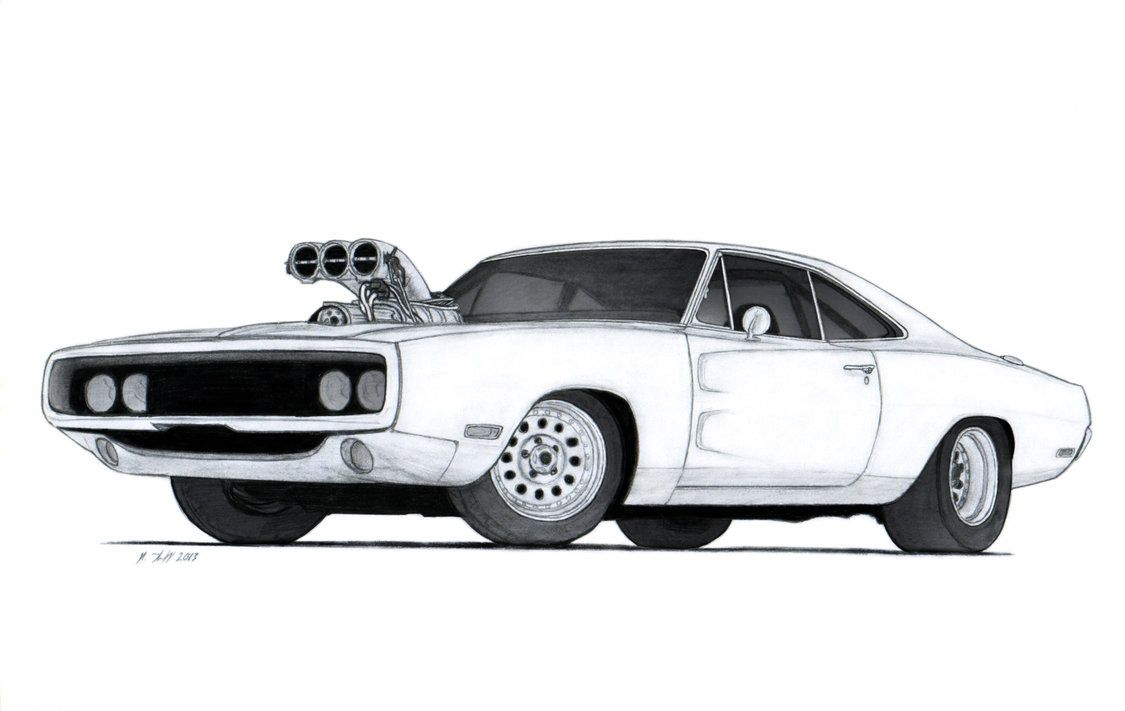 1970 Dodge Charger R T Drawing By Vertualissimo On Deviantart Dodge Charger Rt Dodge Charger Car Drawings