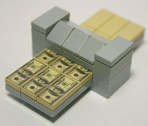 The license to print money! Lego money that is!