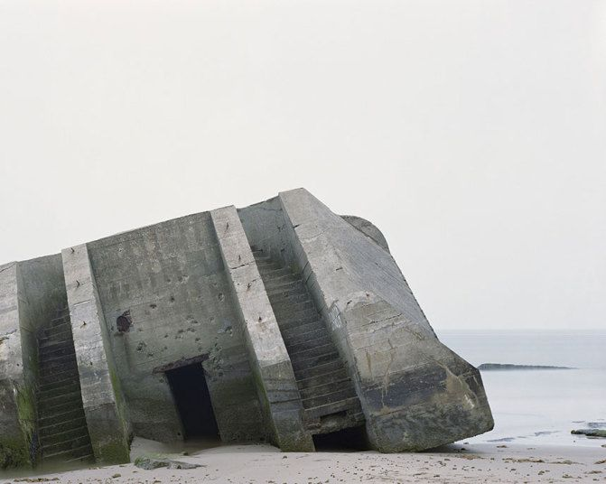 Photographer Marc Wilson's series of abandoned World War II military buildings and their surrounding landscapes