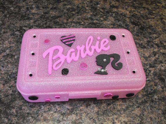 Personalized Barbie Pencil Case. $9.00, via Etsy.