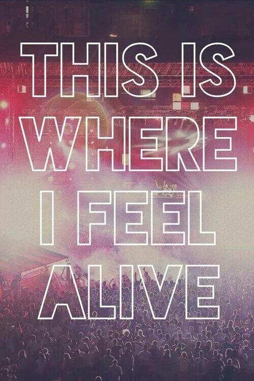 The feeling is amazing
