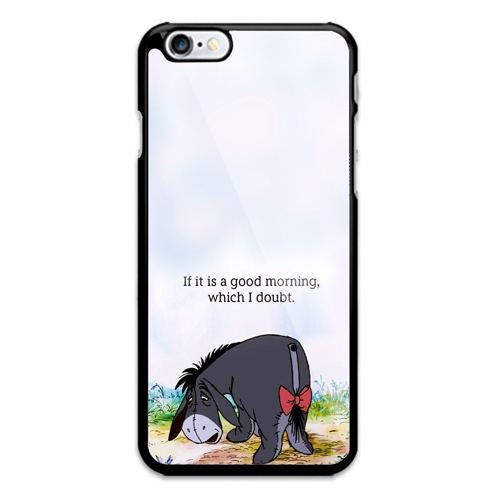 Winnie The Pooh Eeyore Quote Iphone Xr And Xs Max Hard