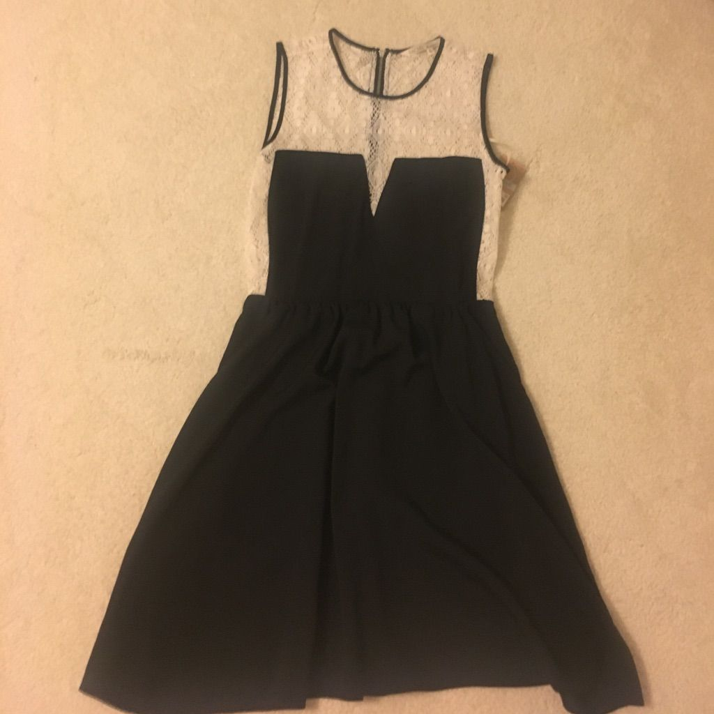 Rachel roy black and white lace dress white lace dresses rachel
