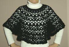 Crochet Bernat Lacy Poncho | Free Crochet Pattern