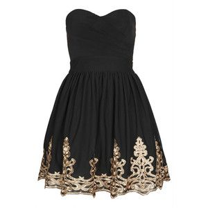 Short dress picture description lila bandeau by tfnc dresses clothing topshop usa homecoming also nicole romerl nicoleromerl on pinterest rh