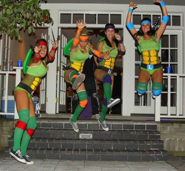 TMNT costume diy halloween costumes  sc 1 st  Pinterest & TMNT costume diy halloween costumes | Autumn. | Pinterest | DIY ...