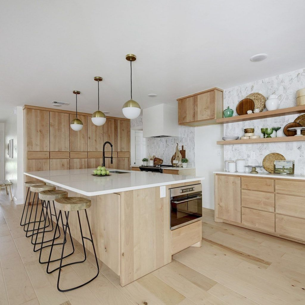 Natural Wood Cabinets Comfort Peasant In 2020 New Kitchen Cabinets Natural Wood Kitchen Cabinets Kitchen Cabinets Light Wood