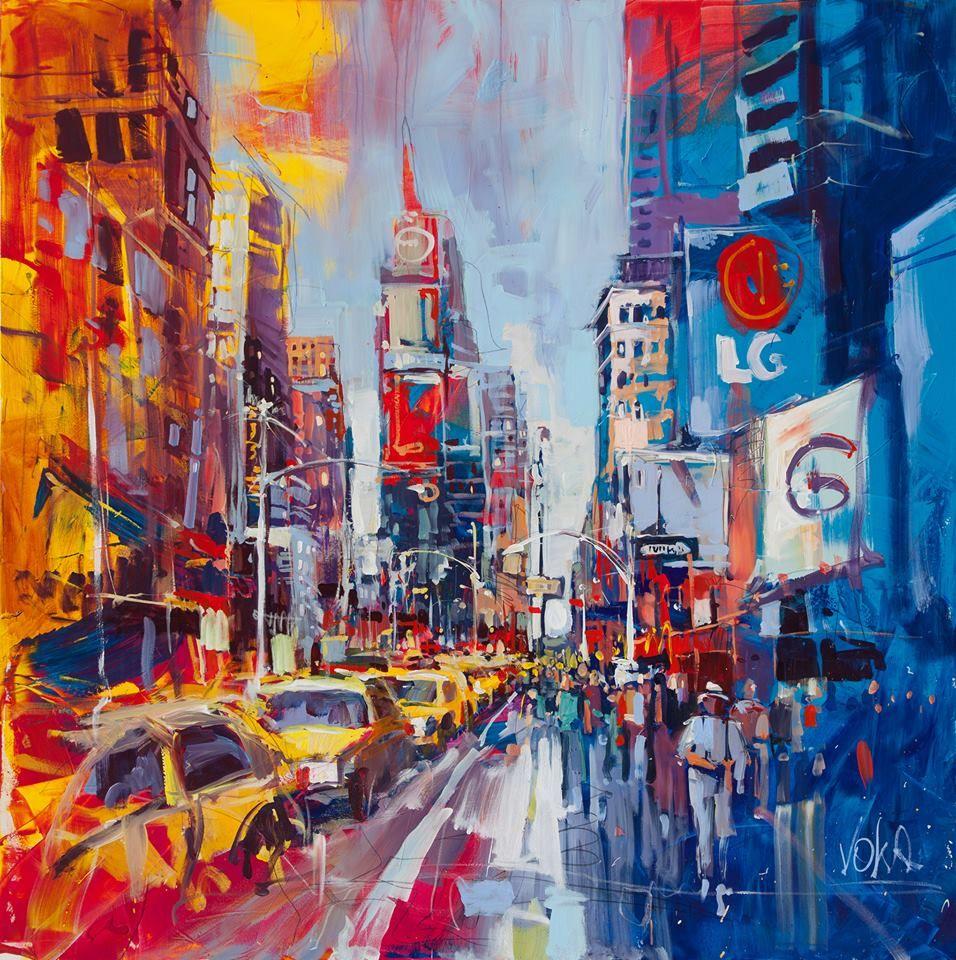 Portrait Artist Oil Painting New Haven