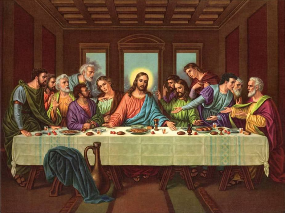 Picture Of The Last Supper Leonardo Da Vinci With Images