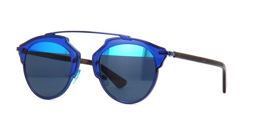 66866ff5612 Dior So Real KMA8T Tri Blue and Dark Havana Sunglasses