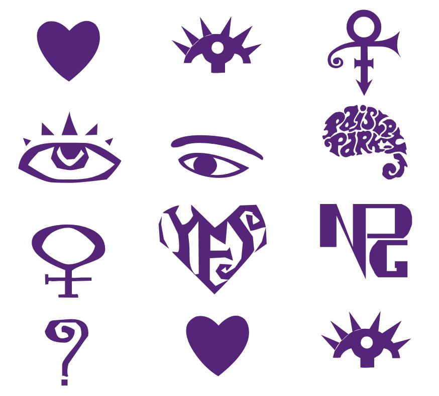 Darlingnisi Grab The Artist Symbol Font Prince Pinterest
