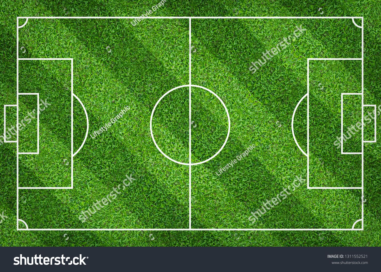 Football Field Or Soccer Field For Background Green Lawn Court For Create Sport Game Ad Ad Background Green Soccer Fo Soccer Field Football Field Field