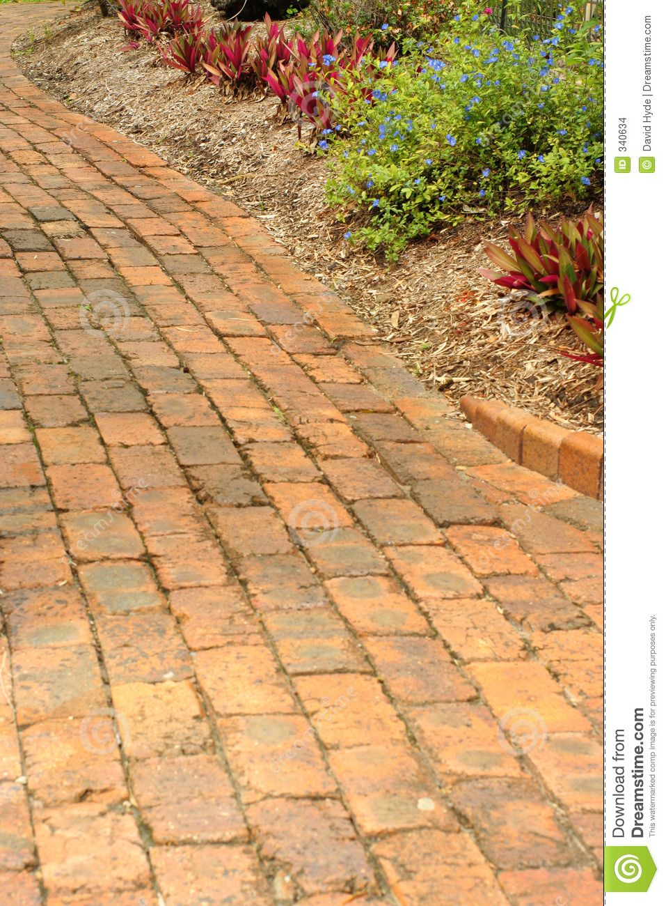 red brick path google search gardens pinterest brick path
