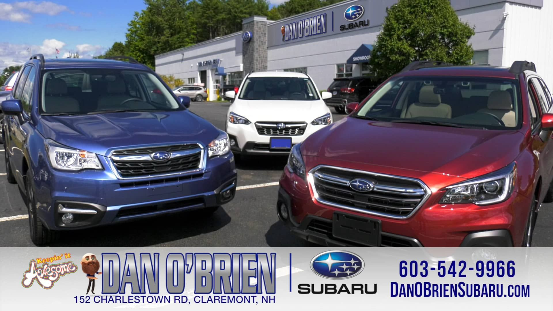 Dan O Brien Subaru 152 Charlestown Rd Claremont Nh 03743 Https Www Danobriensubaru Com Subaru Car Videos Claremont