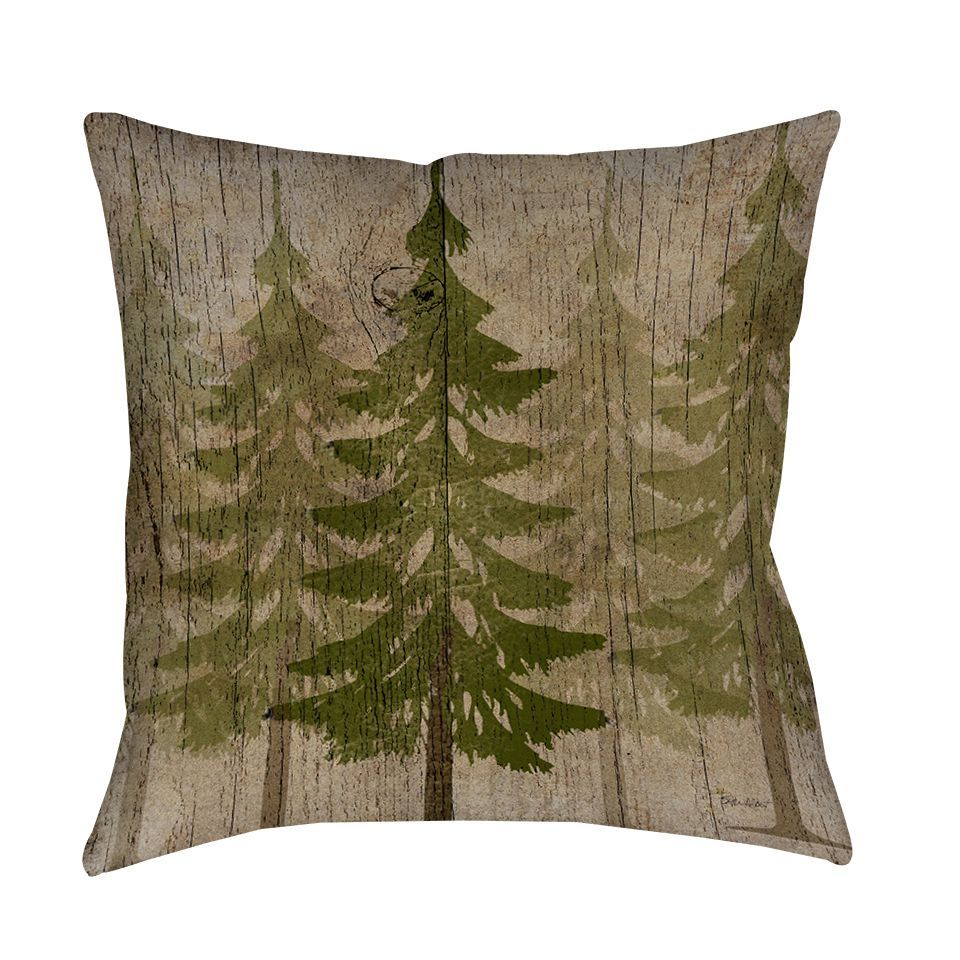Pines Decorative Throw Pillow Throw Pillows Decorative