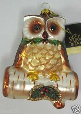 Robert Stanley Owl Ornament