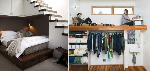 Space saving bedrooms beds home design garden architecture blog magazine