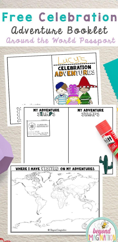 Celebration adventure booklet. Around the world passport for holiday ...