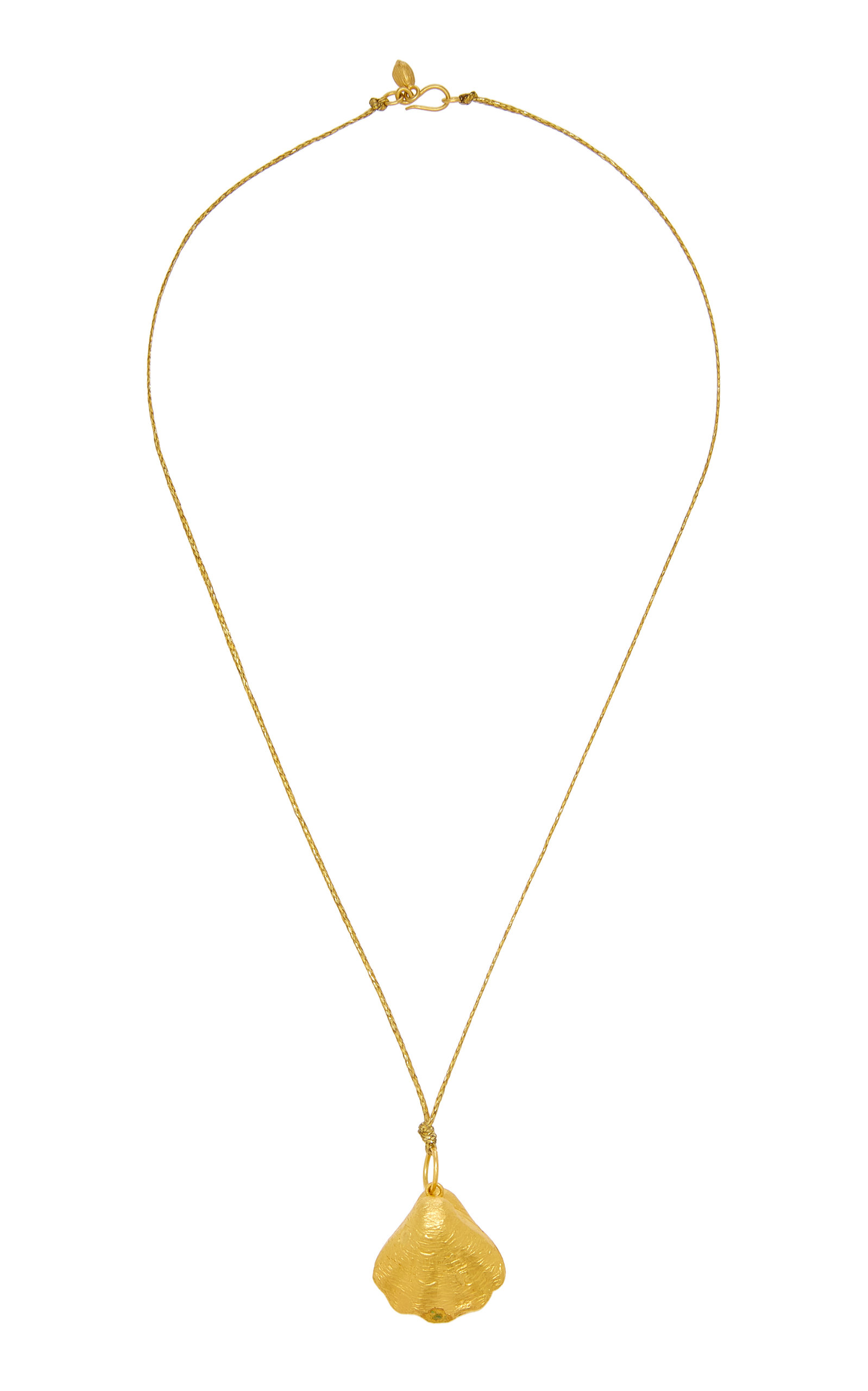Large Oyster Pendant On Cord in 2019 Pippa small
