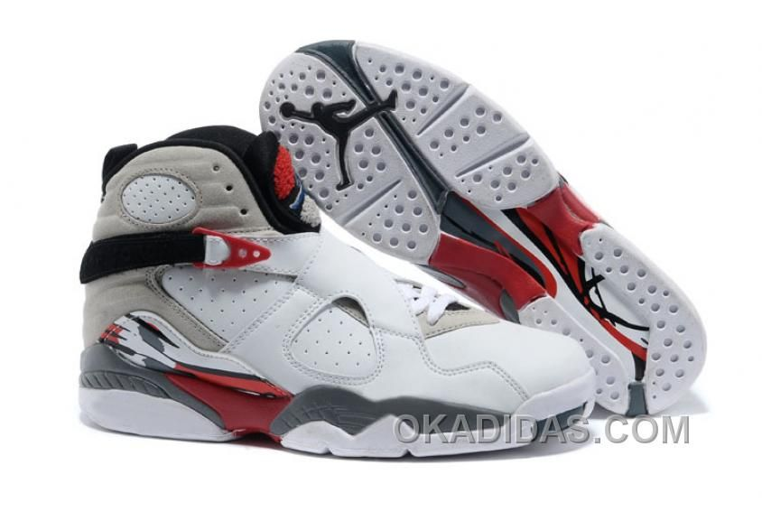 """3f343e31ee56 Find Air Jordans 8 Retro """"Bugs Bunny"""" White Black-True Red Online online or  in Pumarihanna. Shop Top Brands and the latest styles Air Jordans 8 Retro  """"Bugs ..."""